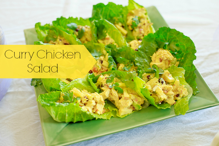 Curry Chicken Salad ~ Gluten and Dairy Free