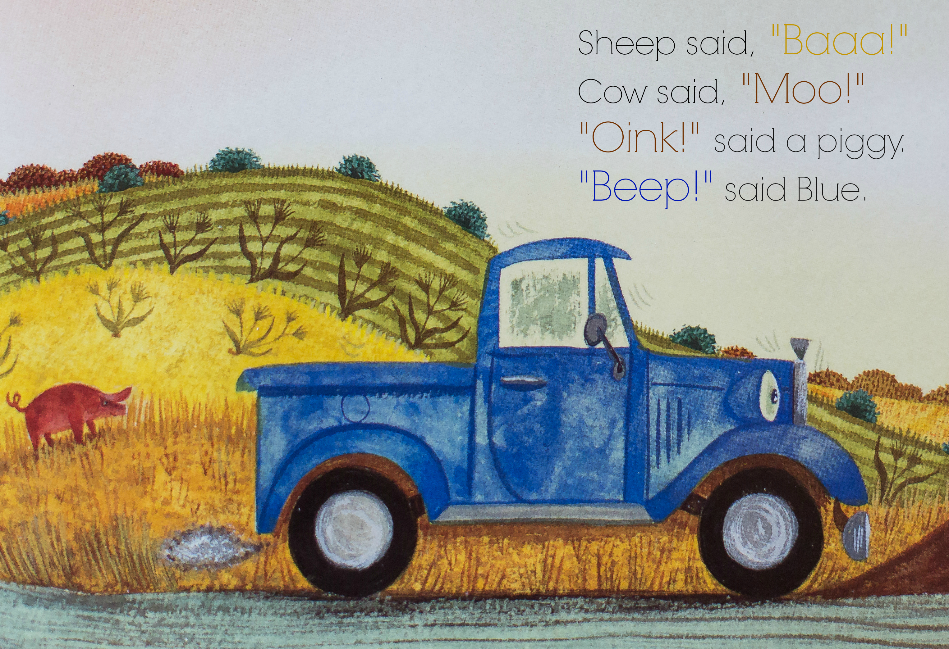 Truck Quotes Turning Children's Book Quotes Into Artwork