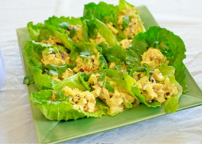 Curry Chicken Salad (gluten free & dairy free)