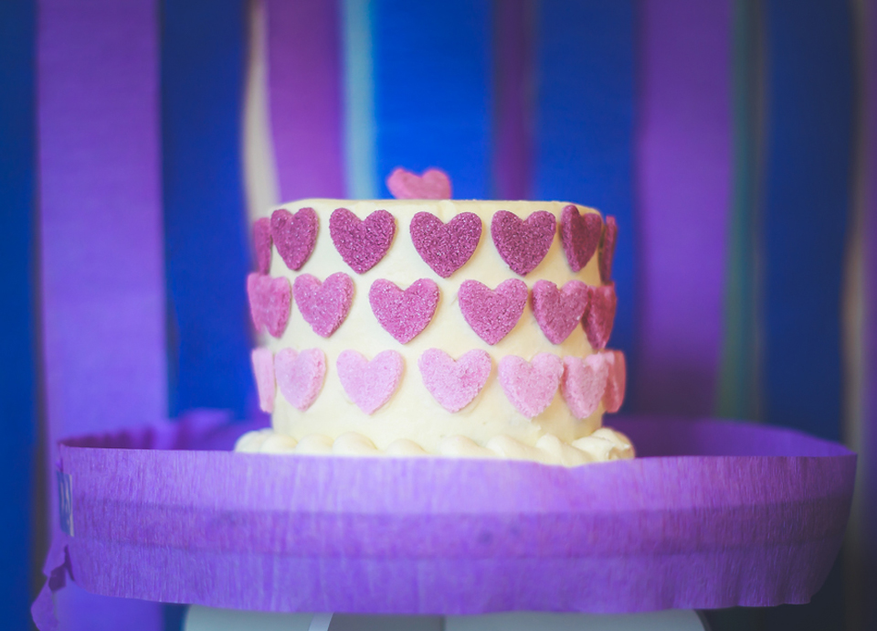 Hearts and Stripes Birthday Party