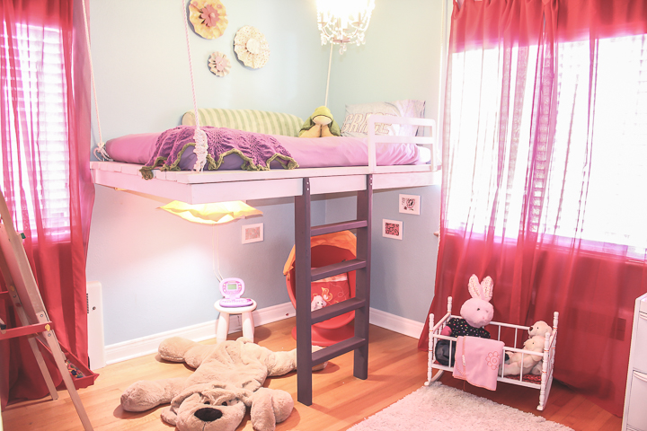 How to Build a Loft Bed (and win your daughter's heart)