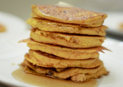 Perfect Pumpkin Pancakes (gluten free & dairy free)