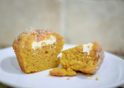 Pumpkin Cream Cheese Muffins (gluten free)