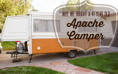 Why We Bought A 41 Year Old Apache Camper