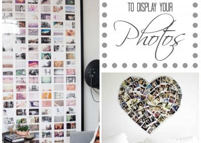 5 Innovative Ways to Display Your Photos