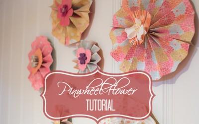 Pinwheel Flower Tutorial (Easy DIY!)