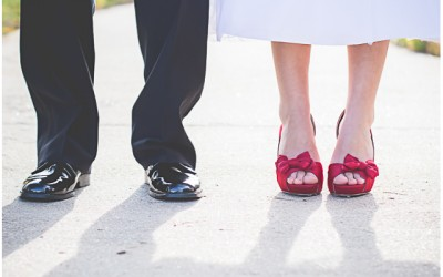 Red Shoes (A Colorado Wedding)